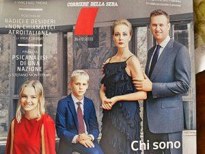 La copertina dedicata ai Navalny da 7 del Corriere della Sera.